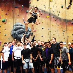 Rock Climbing in Hadley