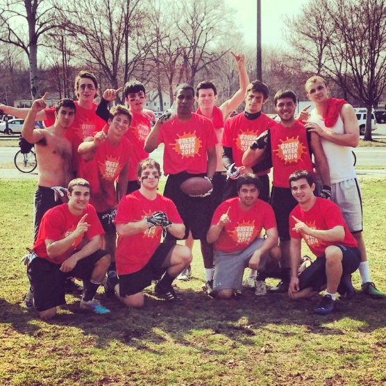 Greek Week 2014 Football Champs