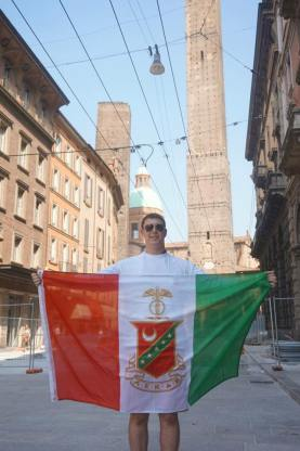 Brother Scott Cohen at Bologna, where it all started