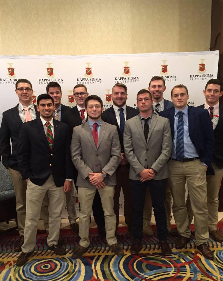 Gamma-Delta Brothers Attend Leadership Conference in Orlando